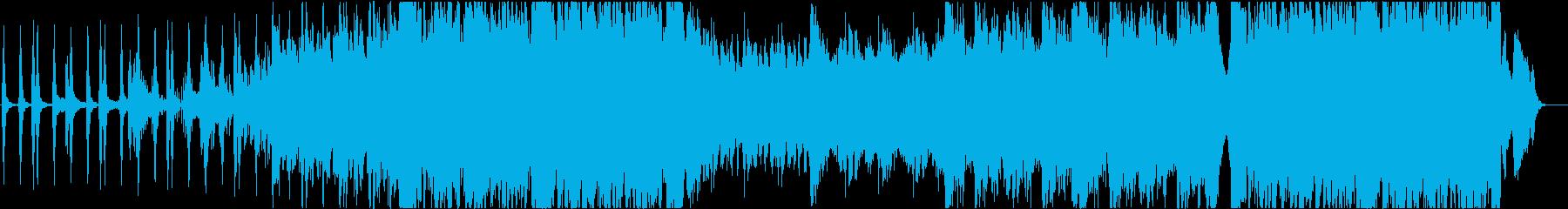 激しめの劇伴2の再生済みの波形