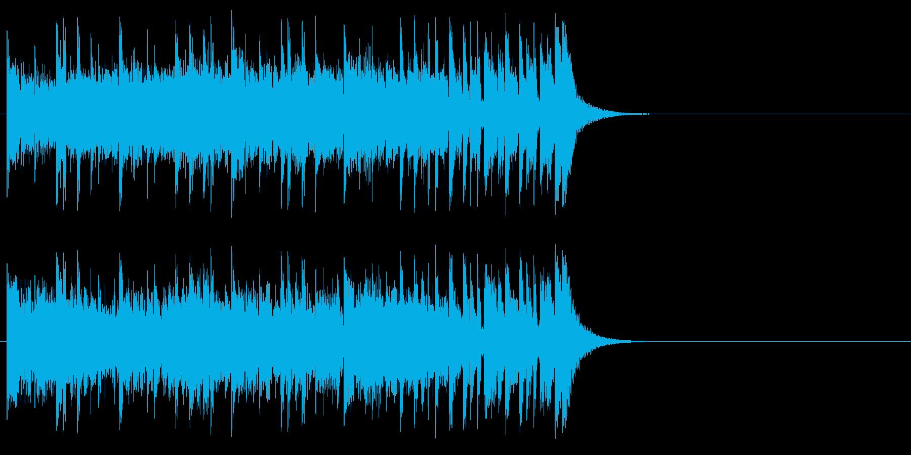 健やかなほのぼのポップ(サビ)の再生済みの波形