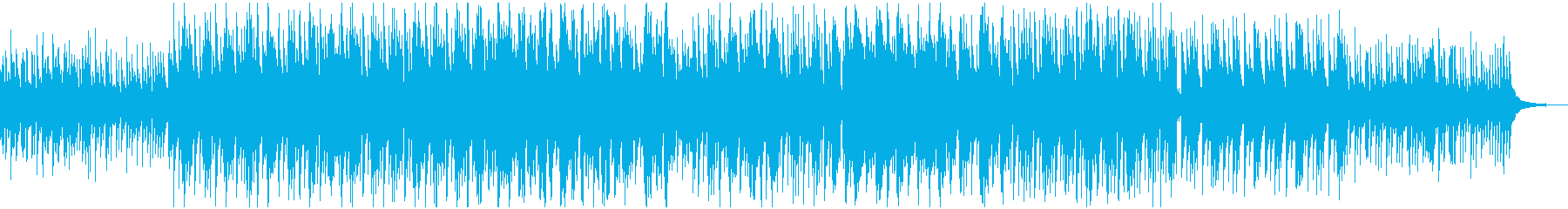 切ない綺麗なピアノのBGMの再生済みの波形