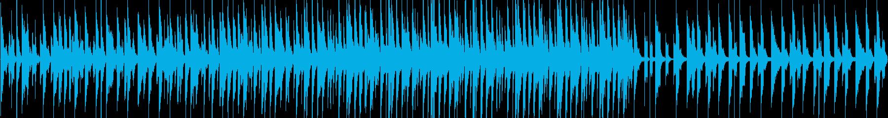 宇宙船に乗ってる感じの曲ですの再生済みの波形