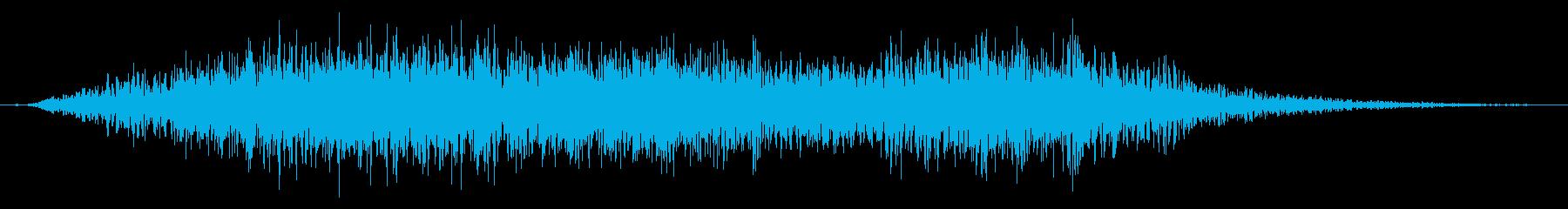不気味なカットインや場面転換の効果音02の再生済みの波形