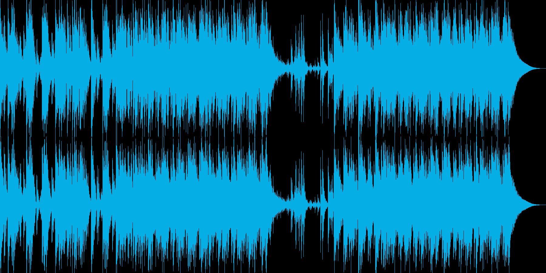 日本伝統音楽1(和太鼓)の再生済みの波形