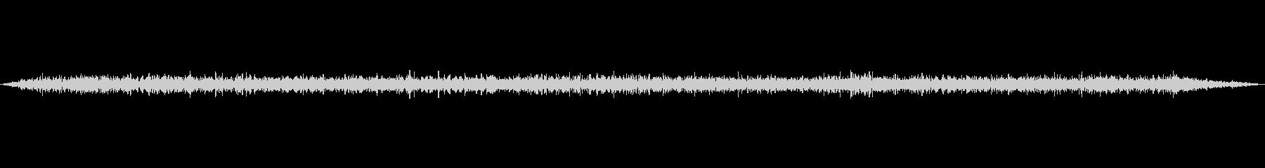 環境音-新幹線車内-走行中の未再生の波形