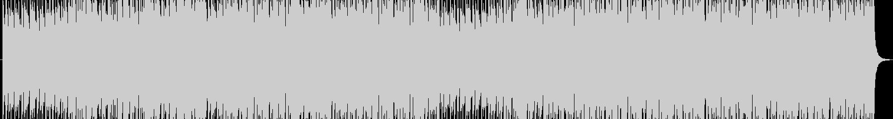 軽快なサウンドの未再生の波形