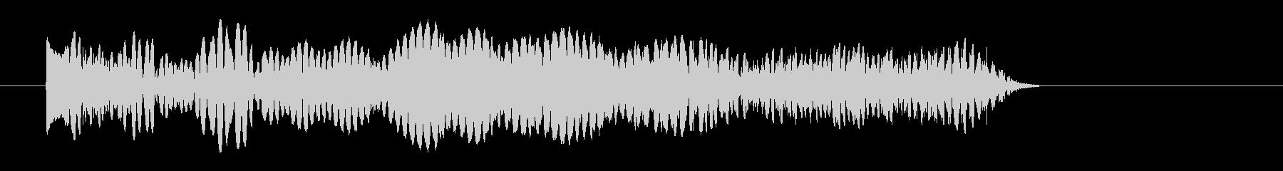 シューティング SFビーム発射音2 強めの未再生の波形