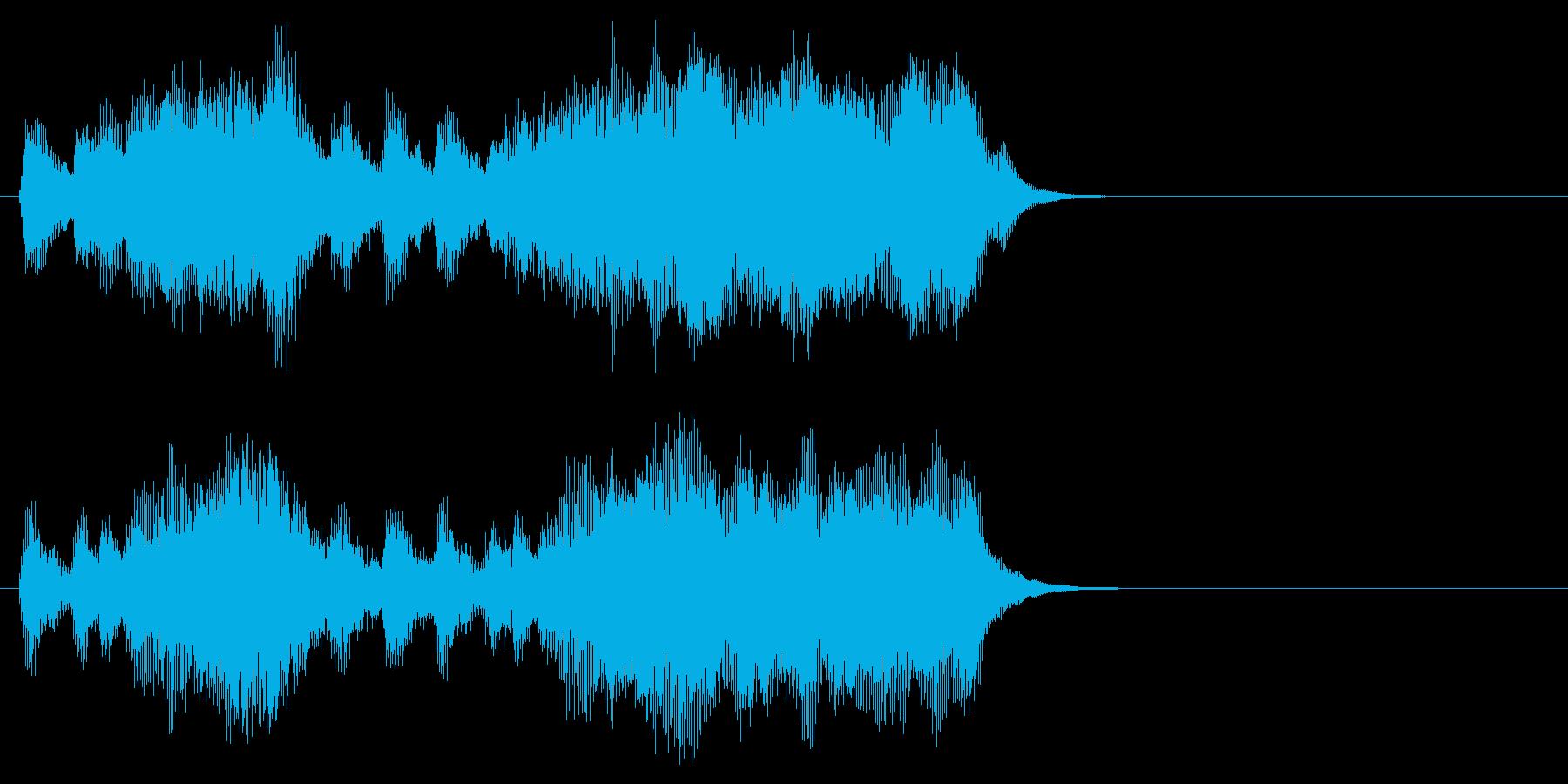 汎用09 パンパカパーン(Long)の再生済みの波形