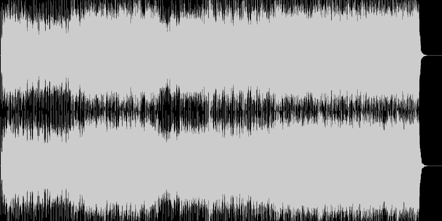エネルギッシュで爽やかなロックの未再生の波形