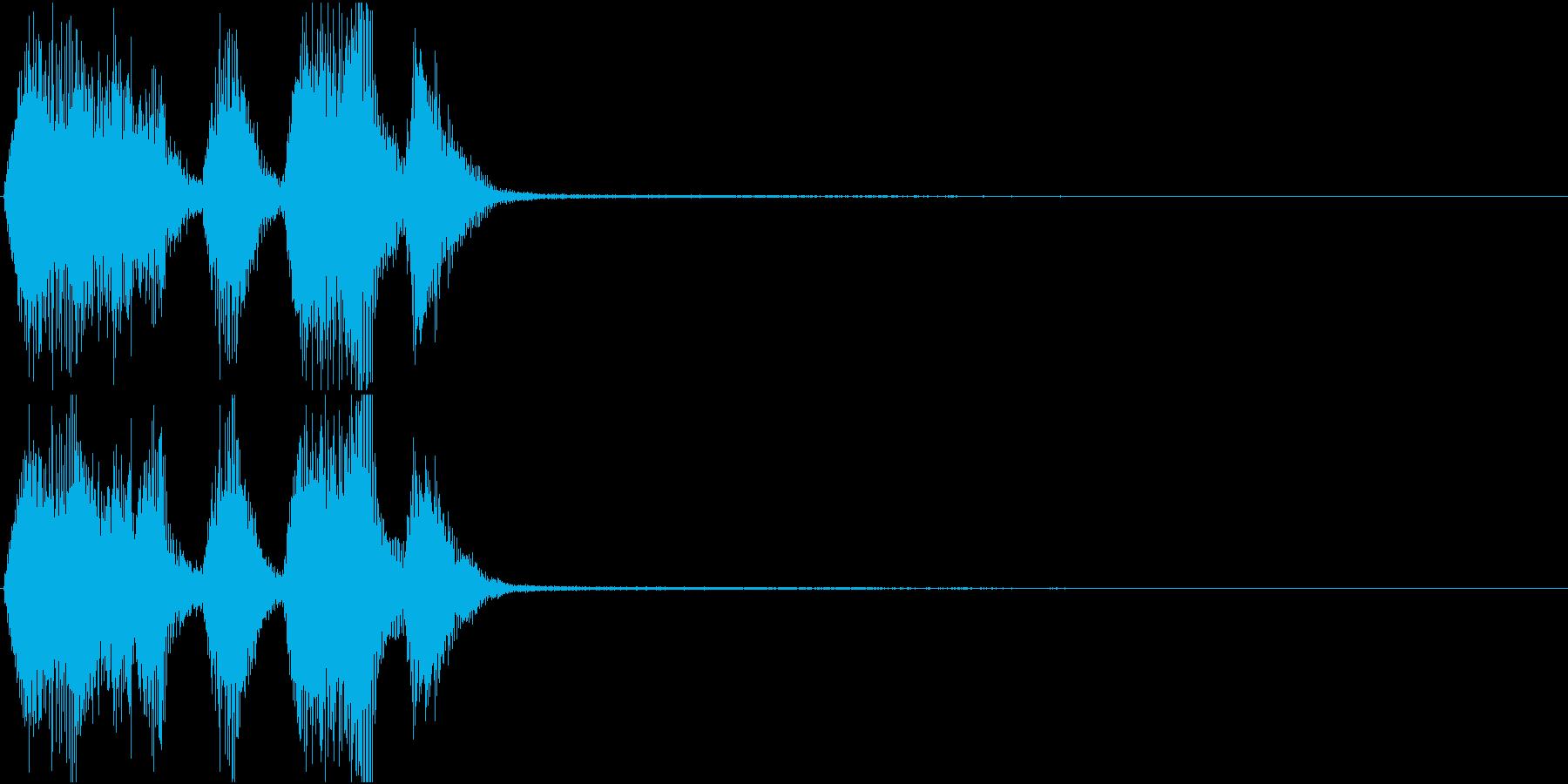 トランペット ファンファーレ 定番 18の再生済みの波形