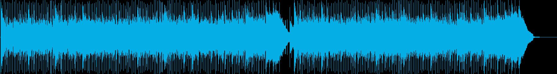 浮遊間のある不思議な感じのフュージョンの再生済みの波形