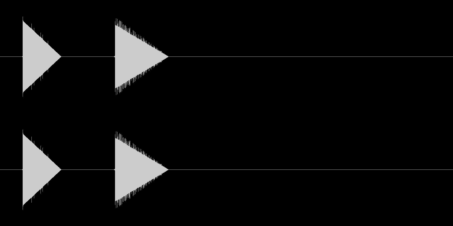 レトロゲーム風・宝箱#3の未再生の波形