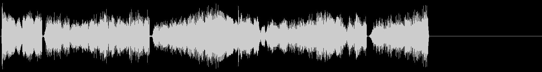 ベルを用いたオシャレ系ジングル向けBGMの未再生の波形