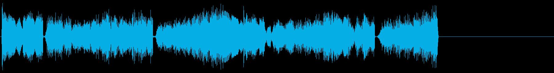 ベルを用いたオシャレ系ジングル向けBGMの再生済みの波形