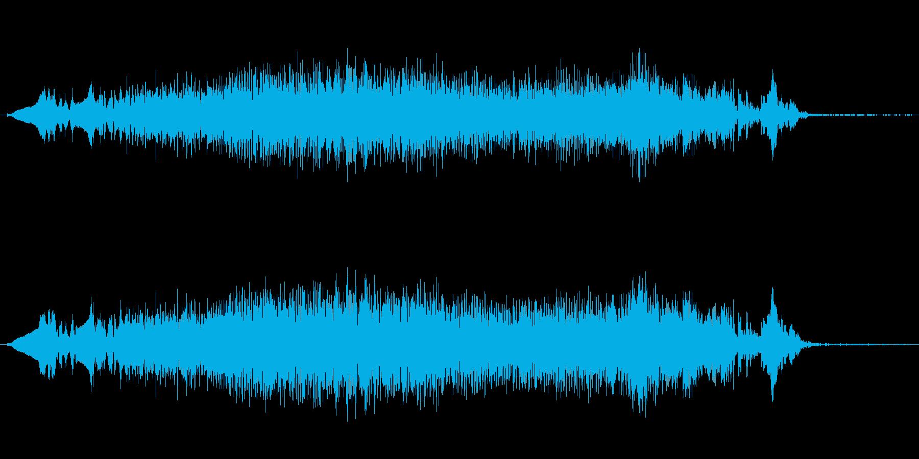 ぐおおおお(モンスターボイス)の再生済みの波形