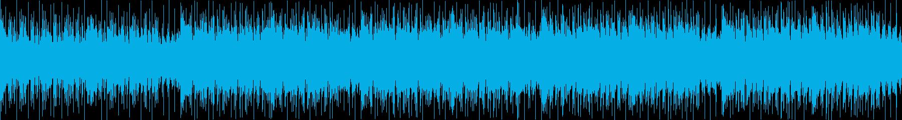 Trance系の楽曲です。の再生済みの波形
