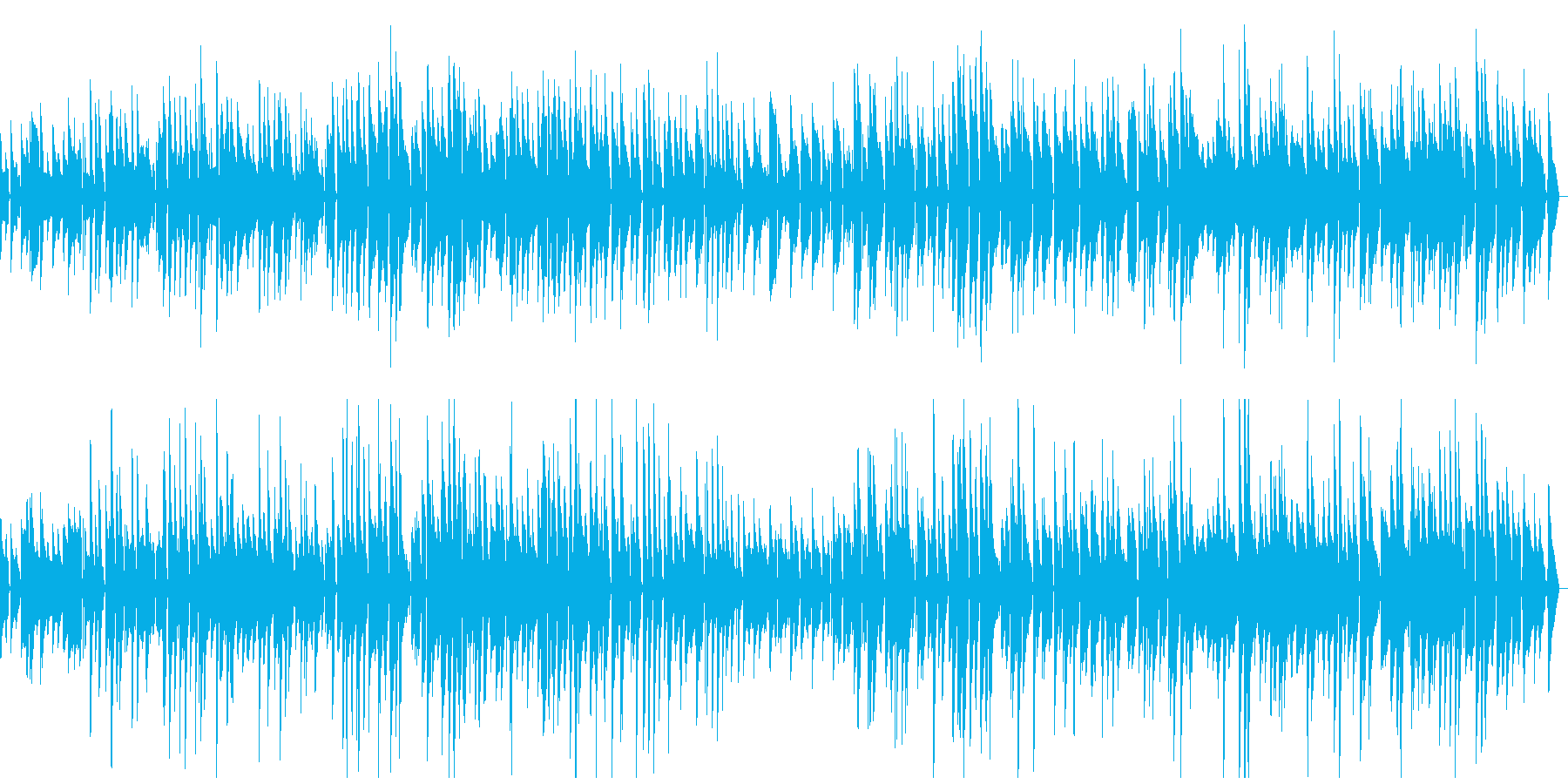 しっとり大人のジャズの再生済みの波形