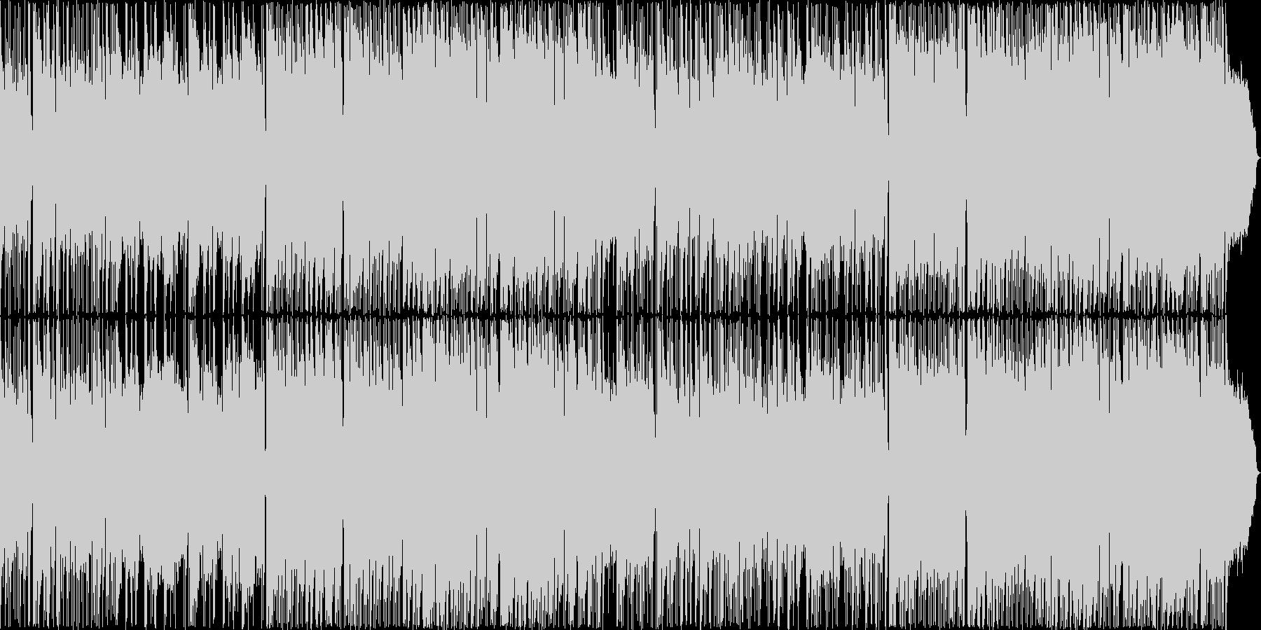 フルートの美しい旋律が特徴的なバラードの未再生の波形