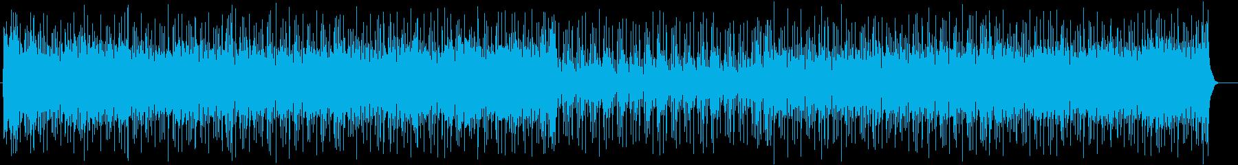元気になれるテクノポップの再生済みの波形