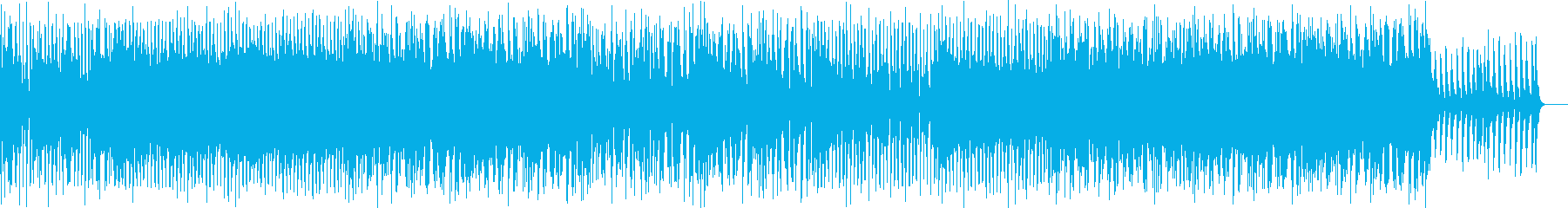 力強いストリングスロックの再生済みの波形