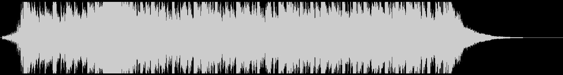 ニュース番組オープニング風BGM(26秒の未再生の波形