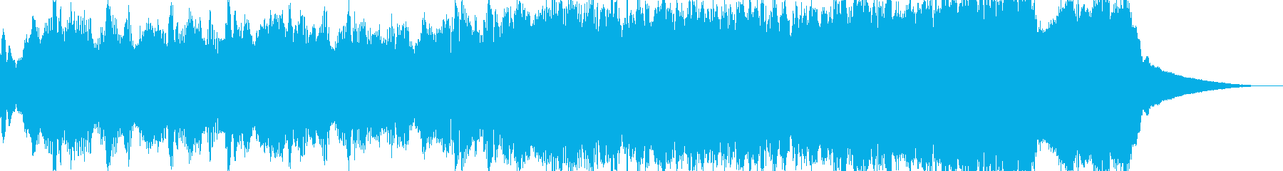 白夜のイメージの再生済みの波形