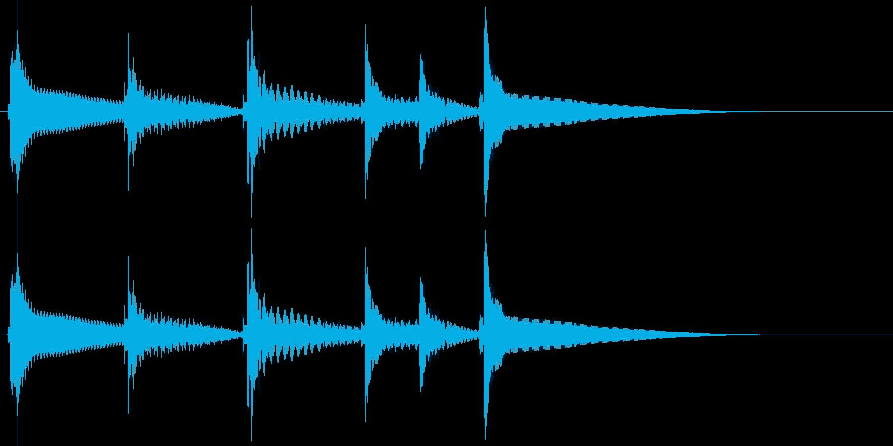 沖縄風ジングル1の再生済みの波形