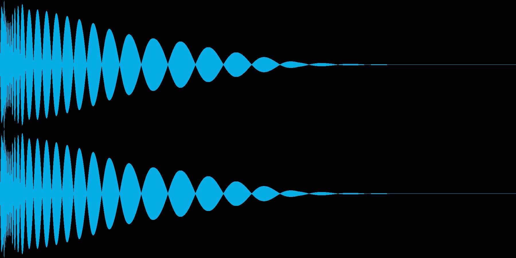 DTM Kick 30 オリジナル音源の再生済みの波形