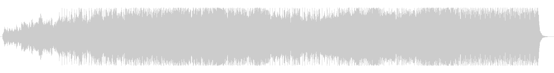 映画風・ケルトオーケストラ・トレーラーの未再生の波形