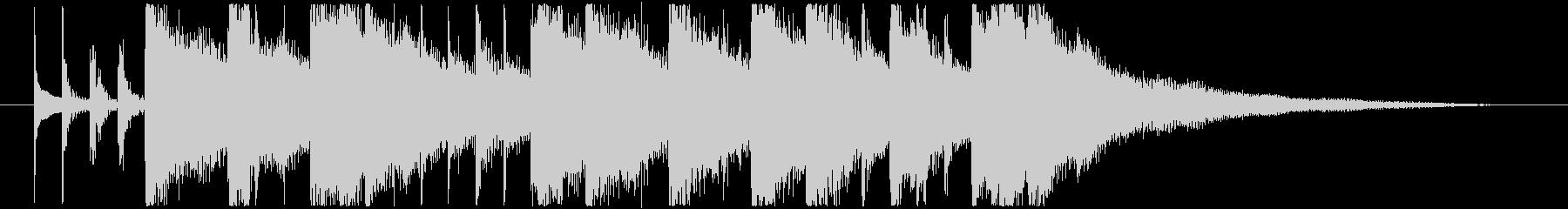 シタールによるインド風妖艶なロゴBの未再生の波形