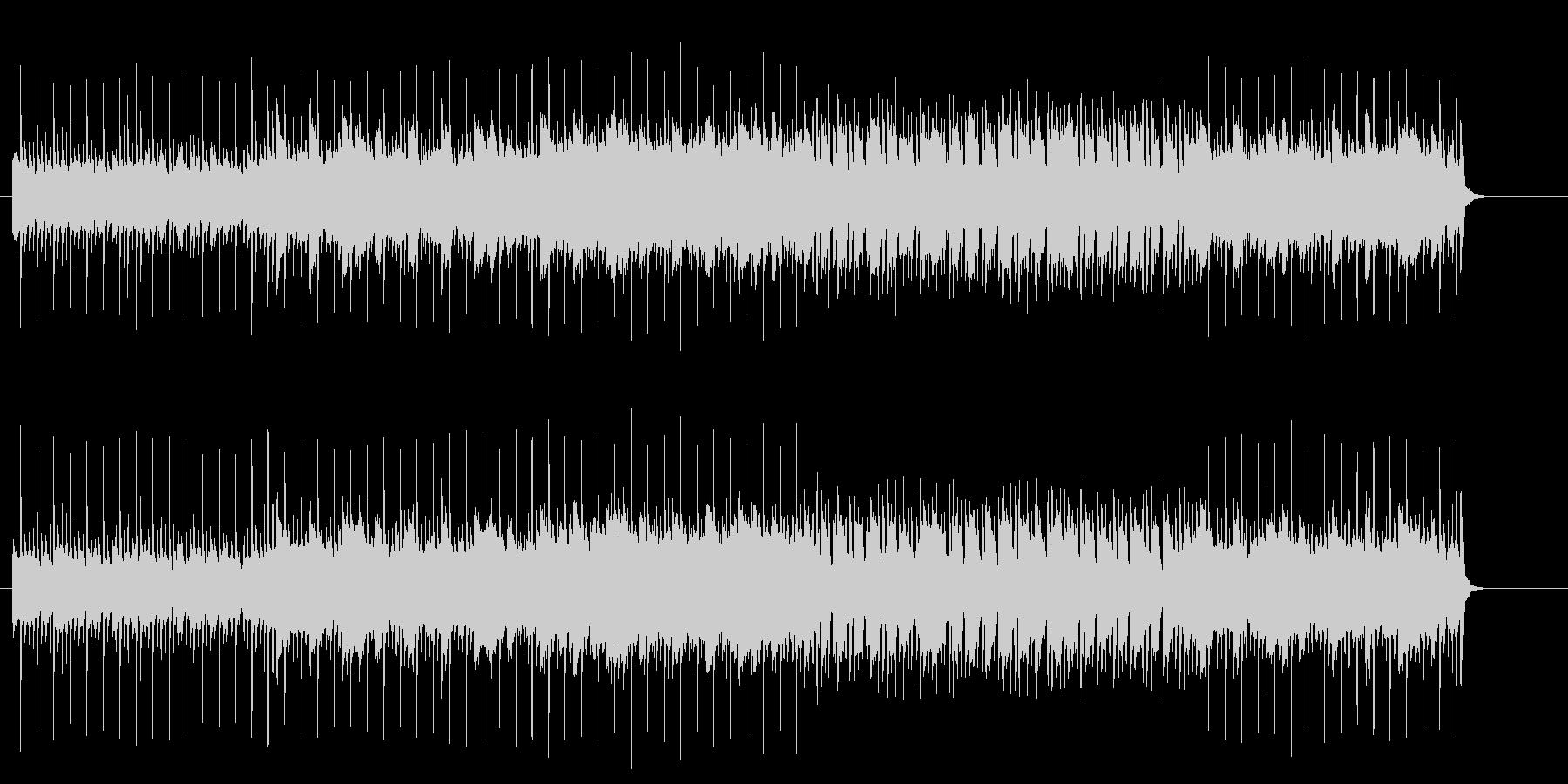 淡々とした無機質なマイナー・ブリッジの未再生の波形