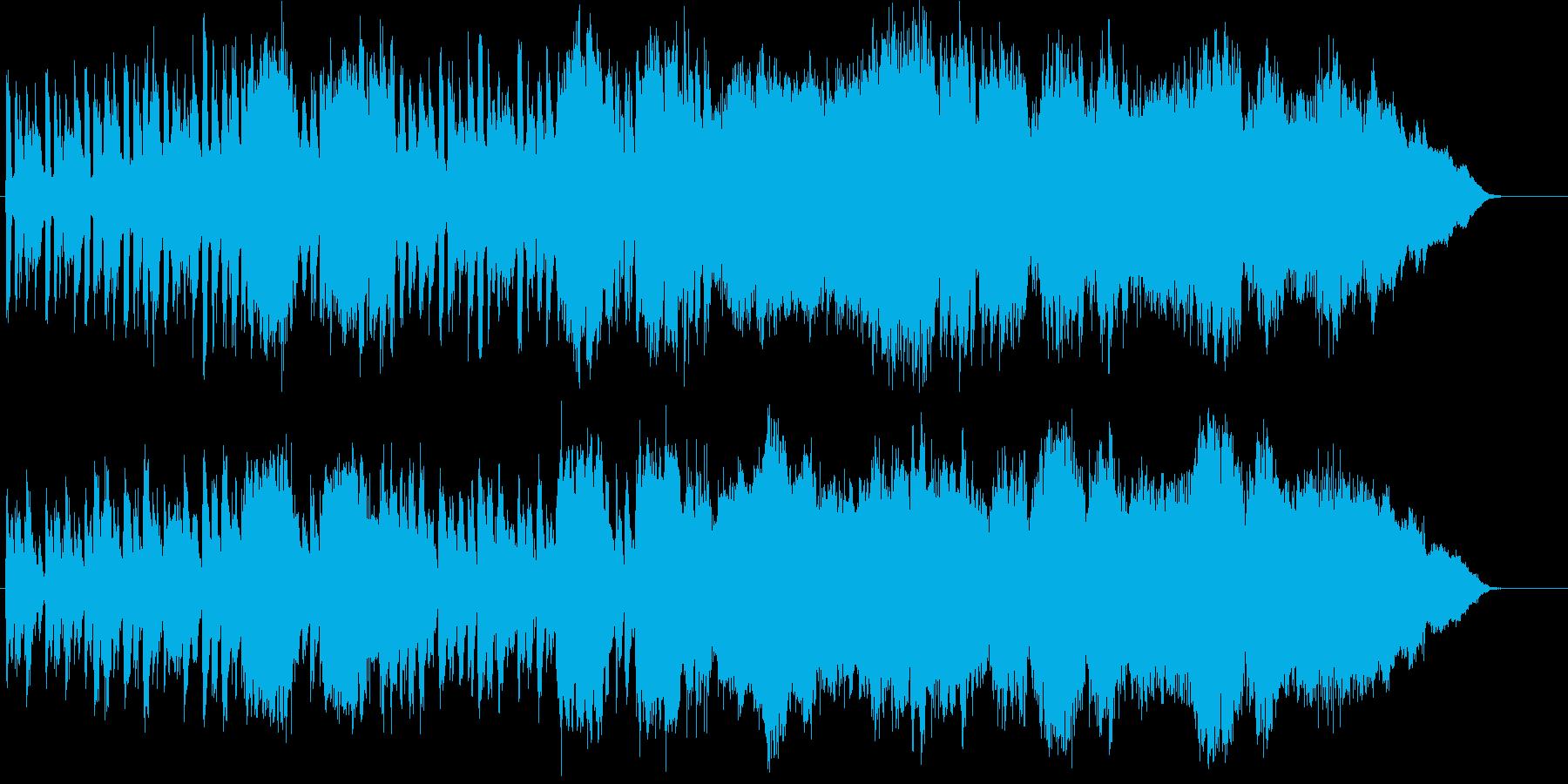 場面転換等に使えるほのぼの系オーケストラの再生済みの波形