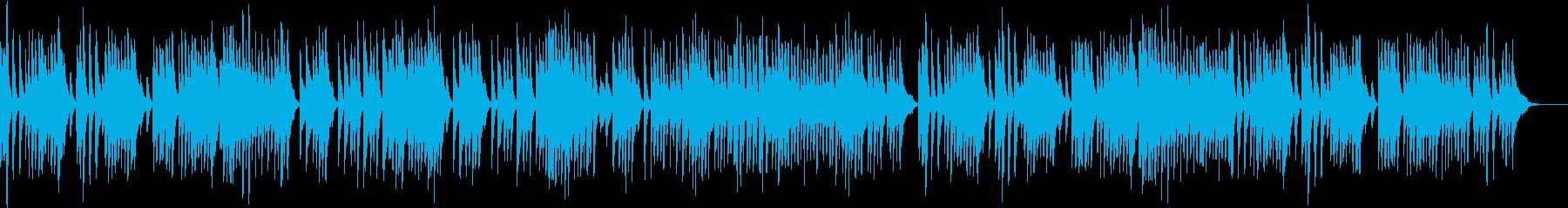 楽しい動画にぴったりなワルツの再生済みの波形