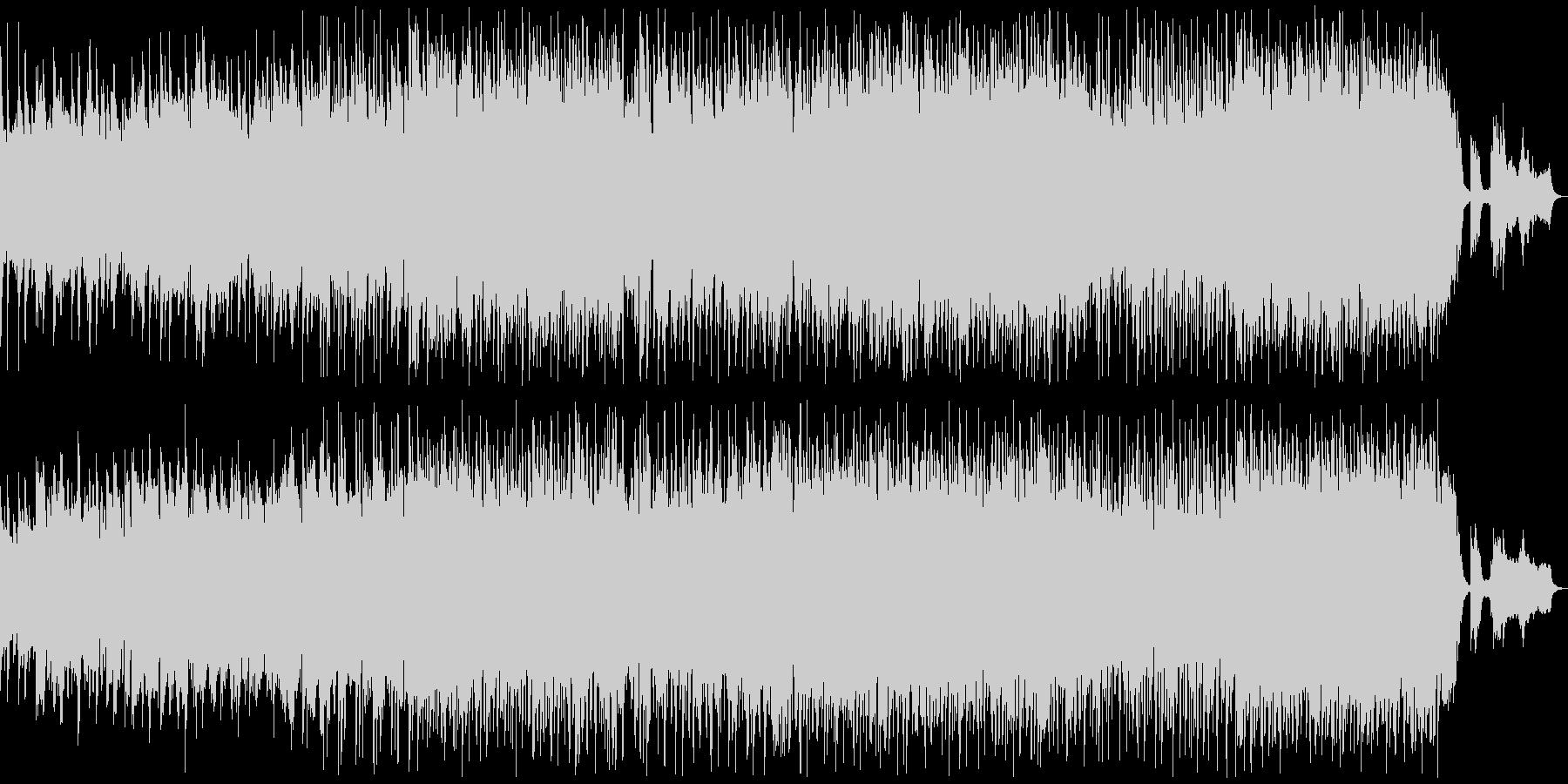 悲しい雰囲気のK-POP風バラード3の未再生の波形