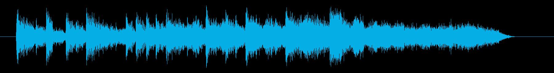 しっとりと繊細なアコギジングルの再生済みの波形