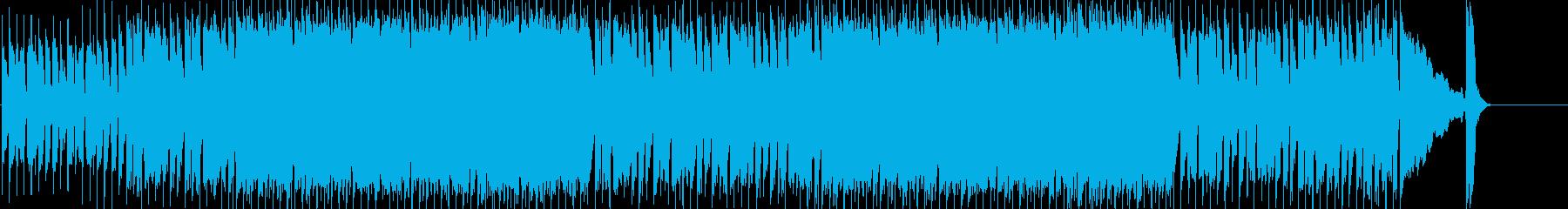 淡々 力強い 前進 科学 雑踏の再生済みの波形