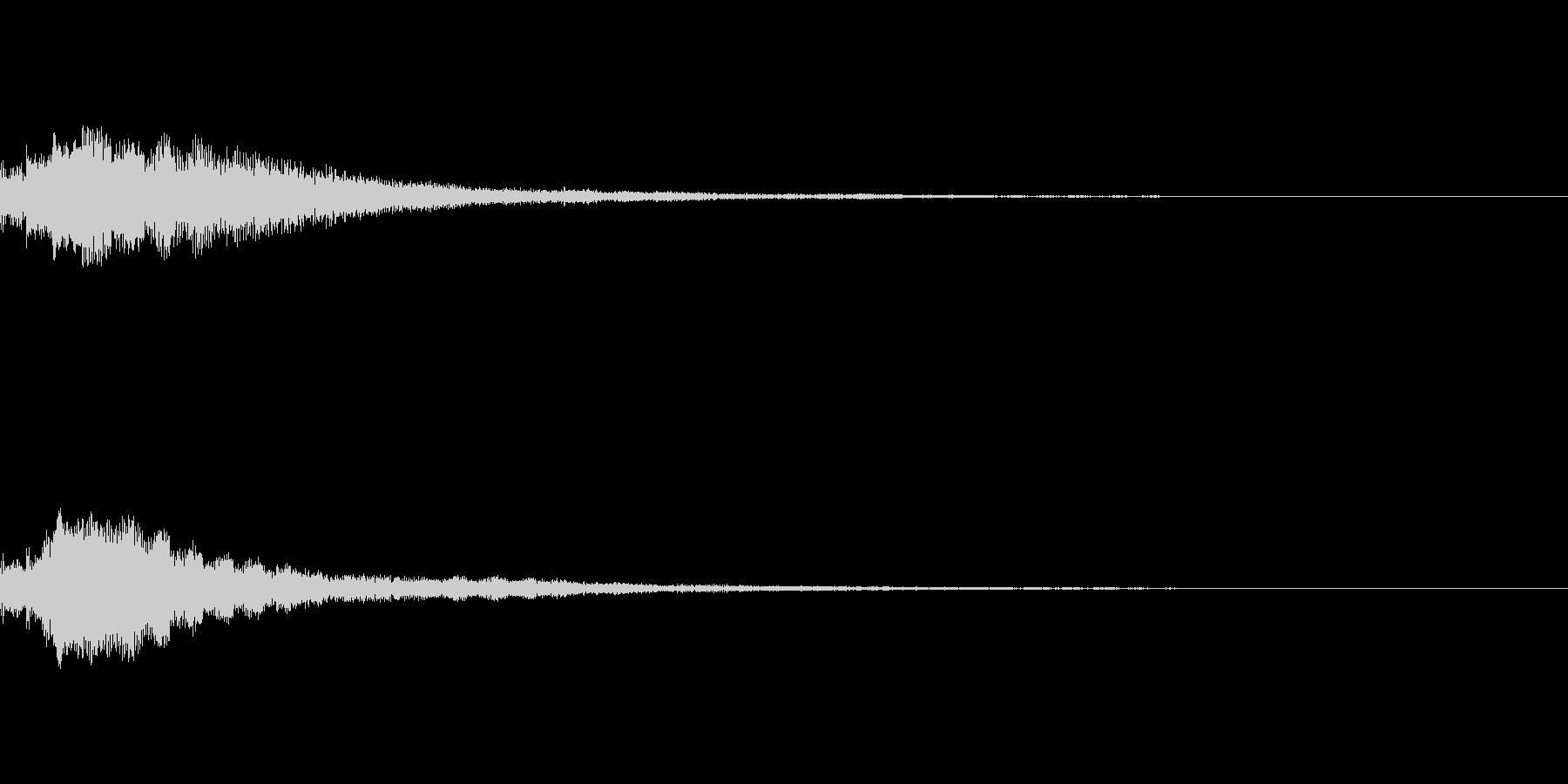 しゃらん♪ (連鎖05)の未再生の波形