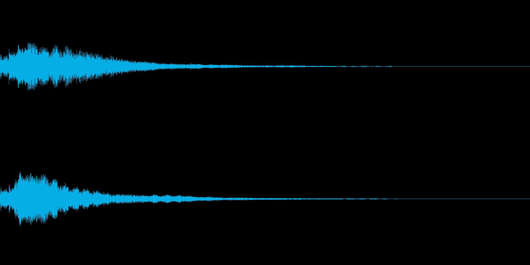 しゃらん♪ (連鎖05)の再生済みの波形
