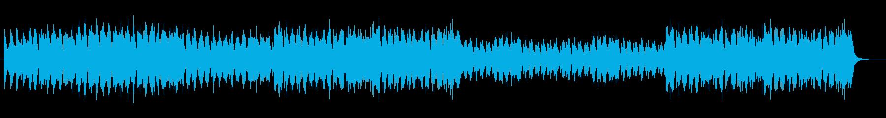 アニメ映画の悪役が行進するときのBGMの再生済みの波形