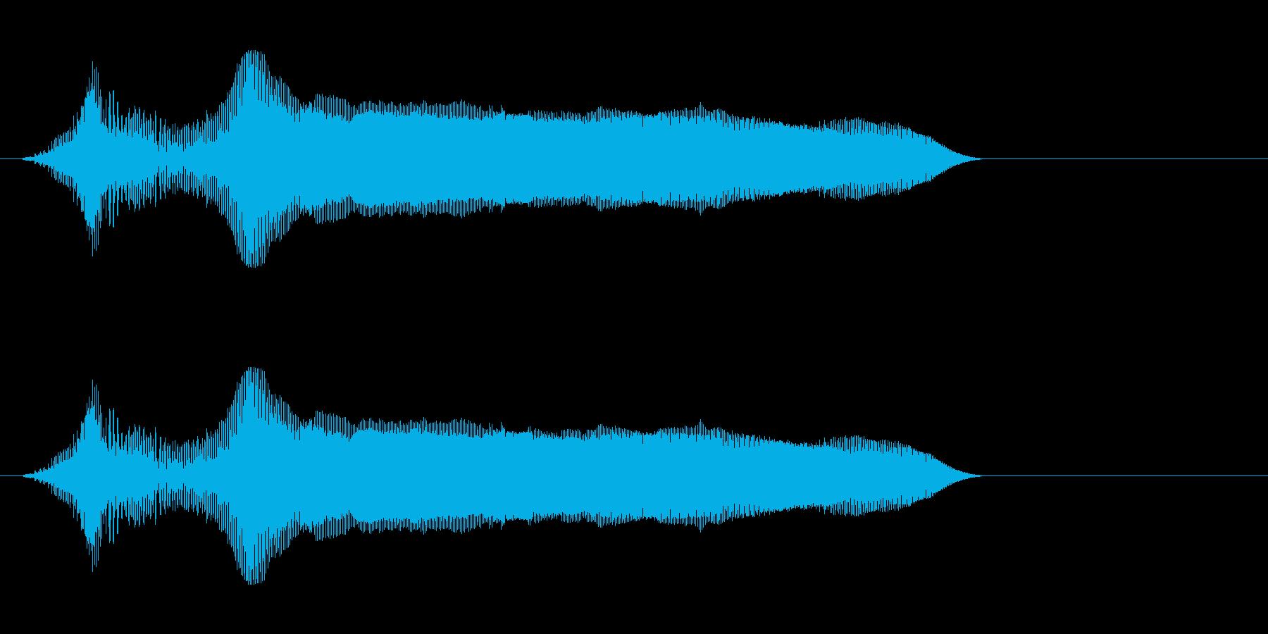 いえーい!の再生済みの波形
