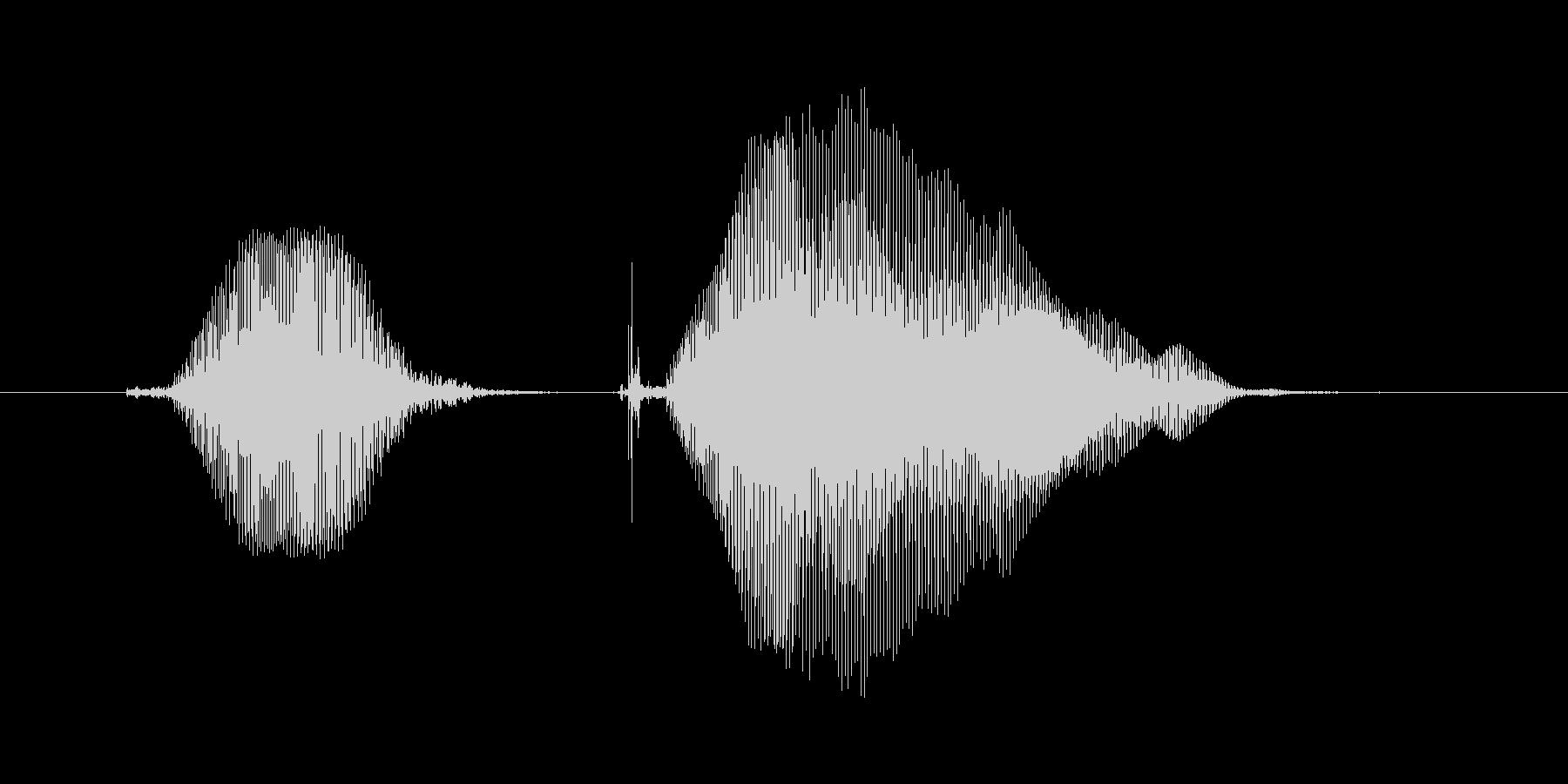 きゅんきゅん2の未再生の波形