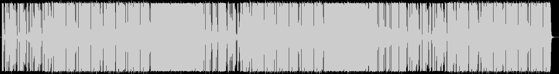 爽やかギターカッティングのポップロックの未再生の波形