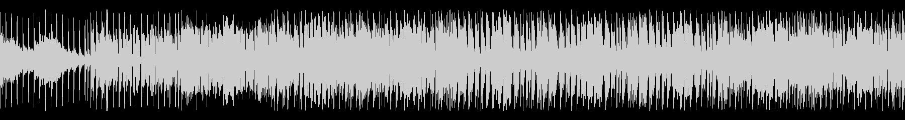回転キラキラ明るいEDMなBGMループの未再生の波形
