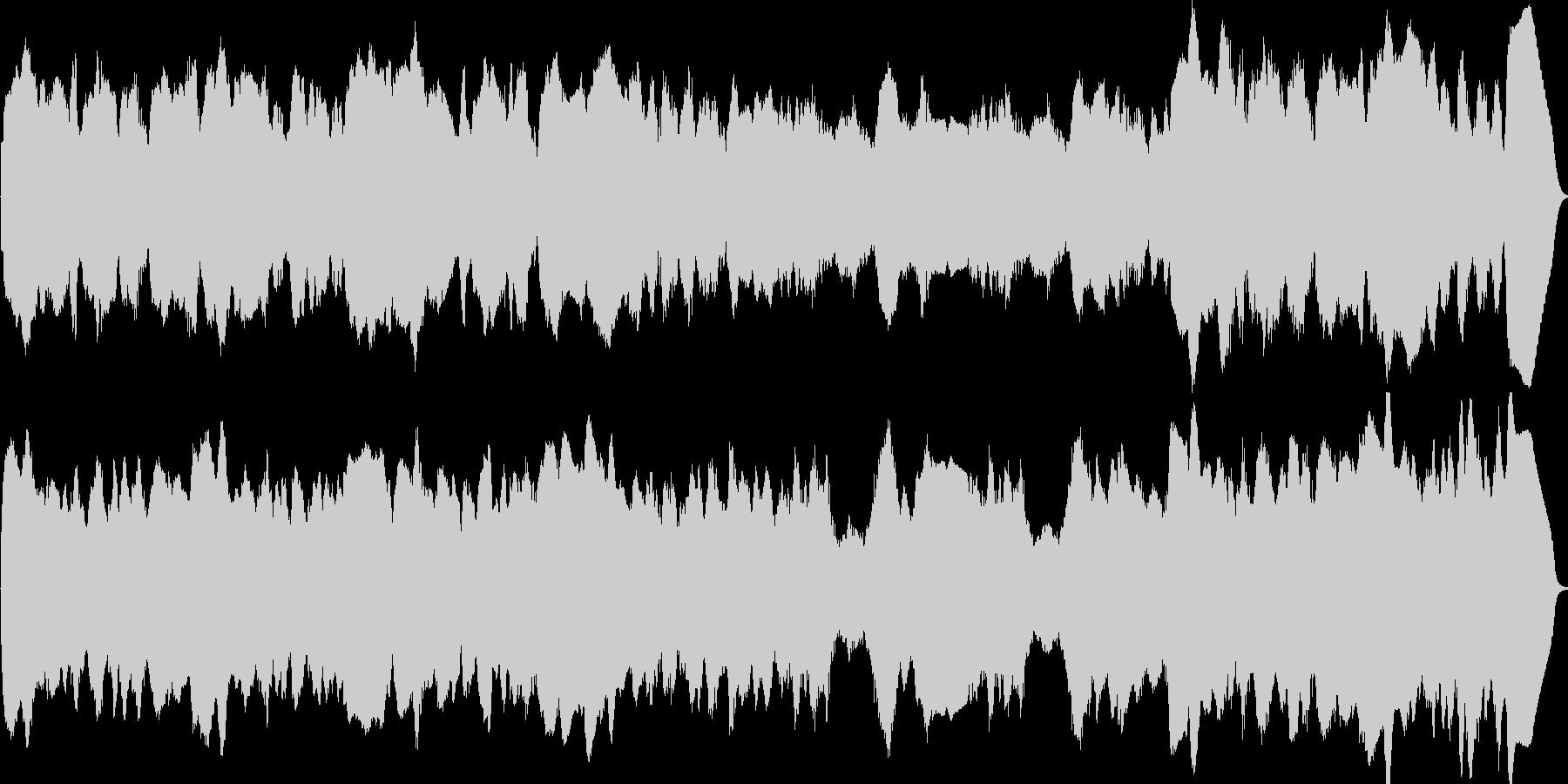 リコーダーのアンサンブルのオリジナル曲…の未再生の波形