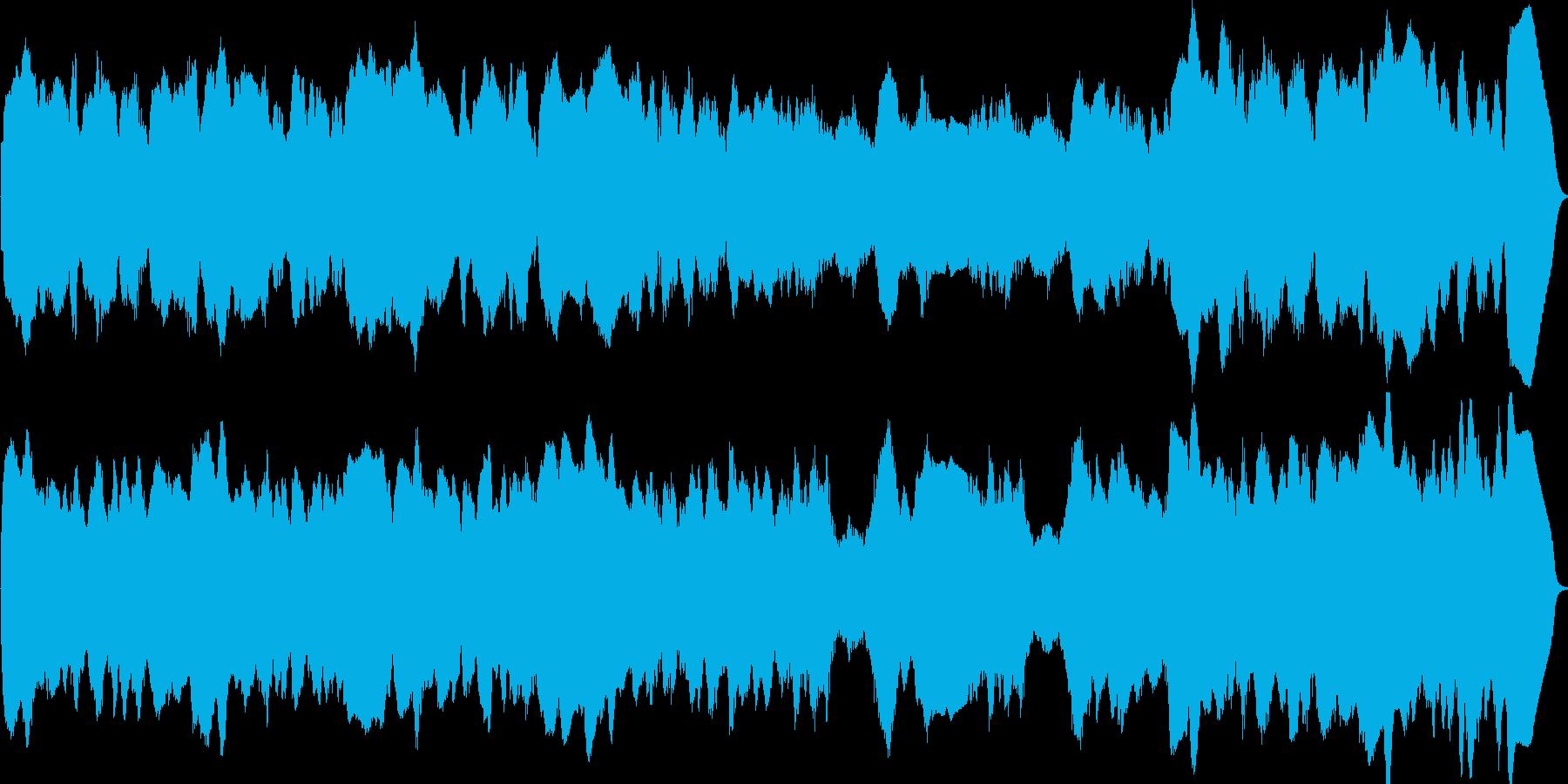 リコーダーのアンサンブルのオリジナル曲…の再生済みの波形