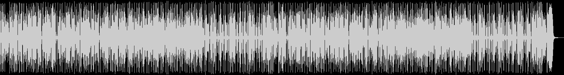 陽気でゴキゲンな80年代風ソウルファンクの未再生の波形