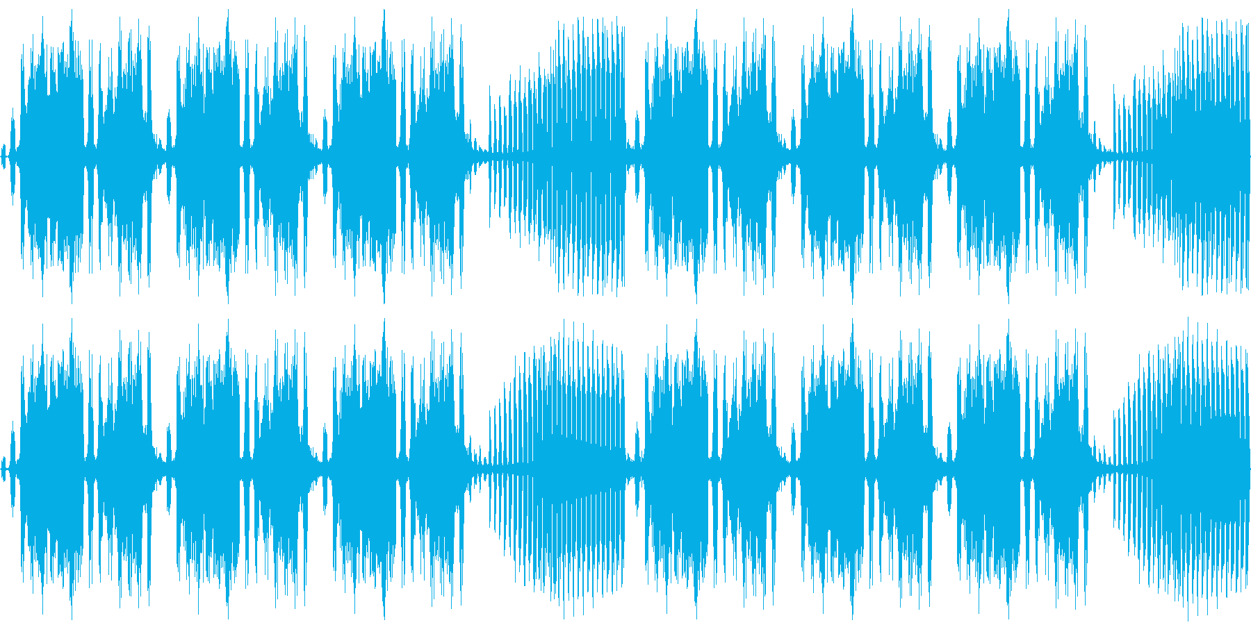 【ダークファンタジー×エレクトロニカ】の再生済みの波形