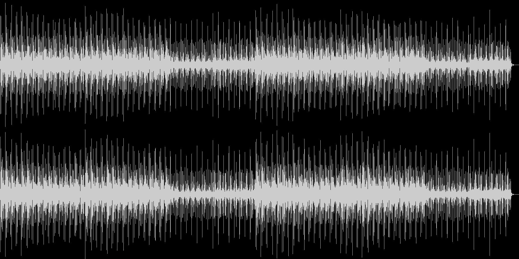 不思議なノスタルジア感アンビエントテクノの未再生の波形