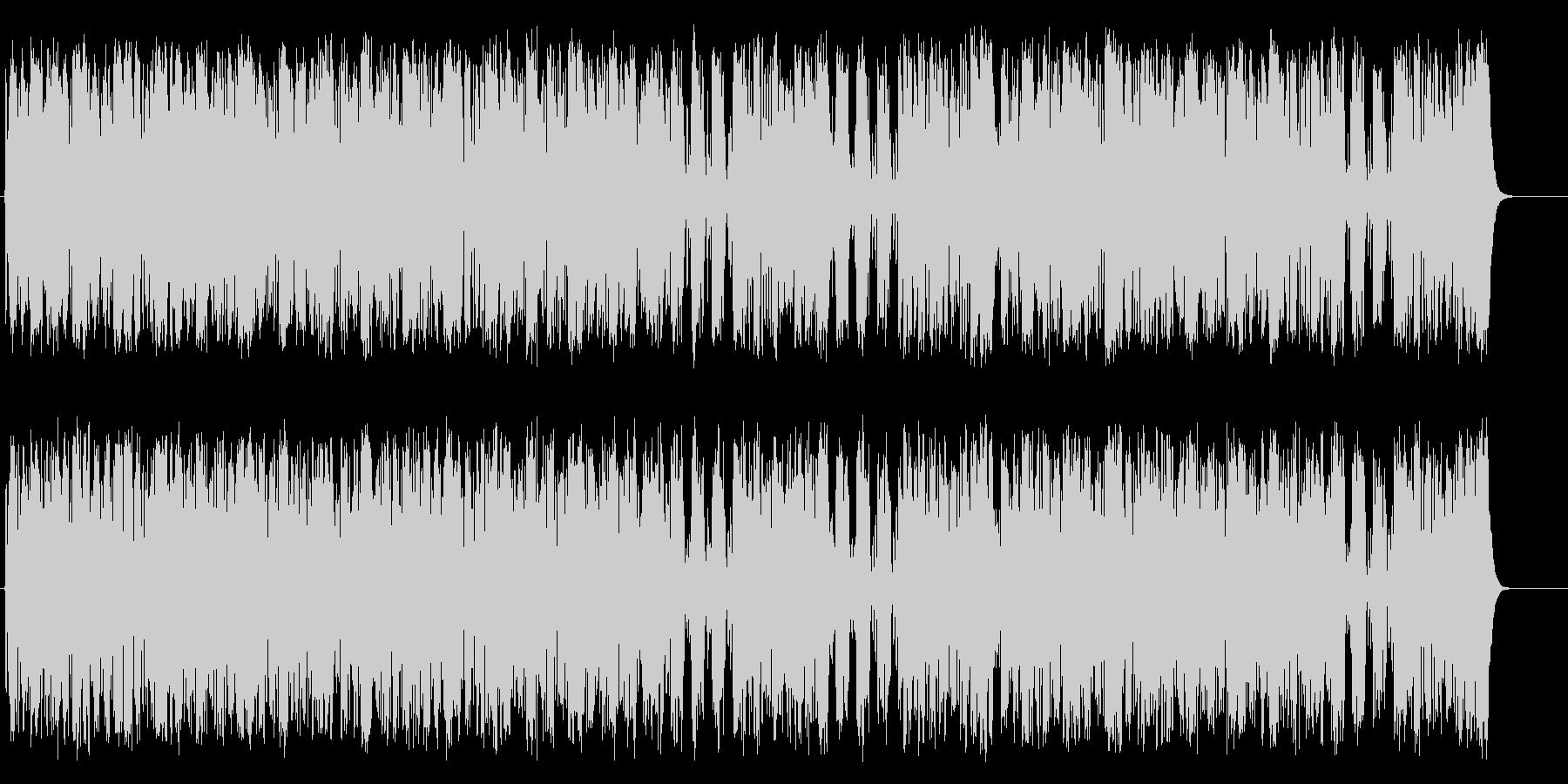 マーチ 鼓笛隊 行進 ほのぼの はつらつの未再生の波形