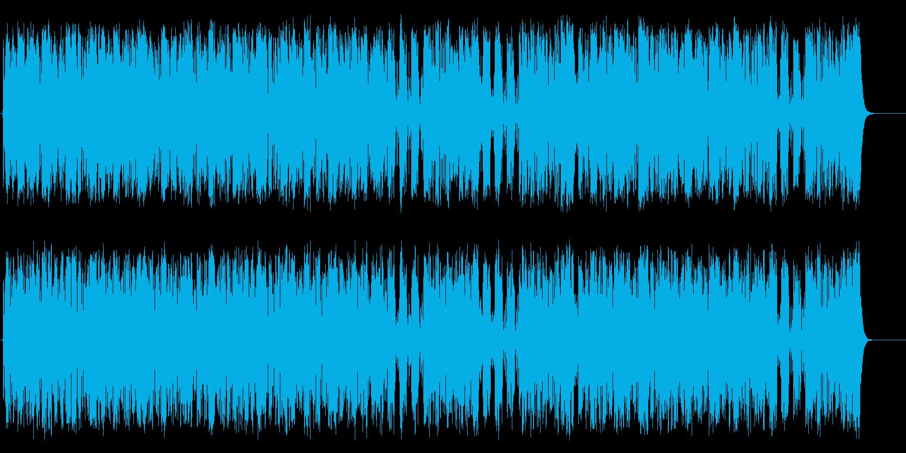 マーチ 鼓笛隊 行進 ほのぼの はつらつの再生済みの波形
