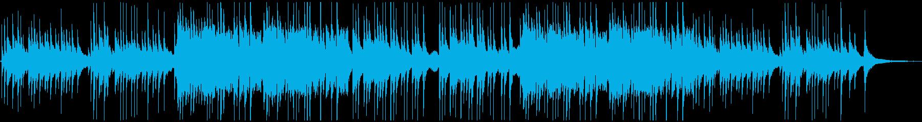 箏、三味線、篠笛、和太鼓などの和楽器の曲の再生済みの波形