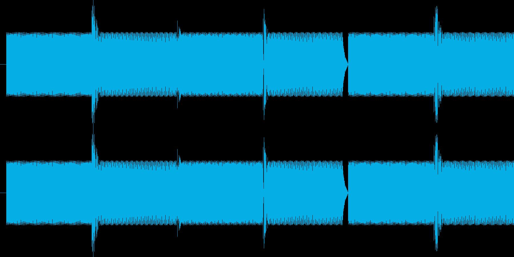 クイズ正解音の再生済みの波形